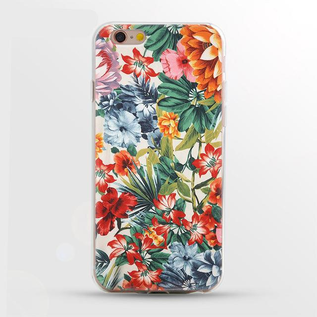 Luxury Flower Case For iPhone - E-shopstore