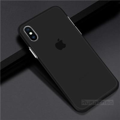 Ultra Thin Matte Transparent case For iPhone
