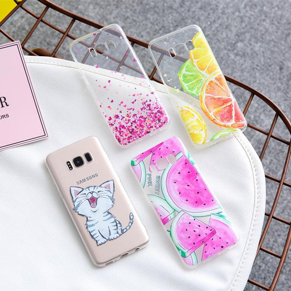 Silicone Bag Case For Samsung series
