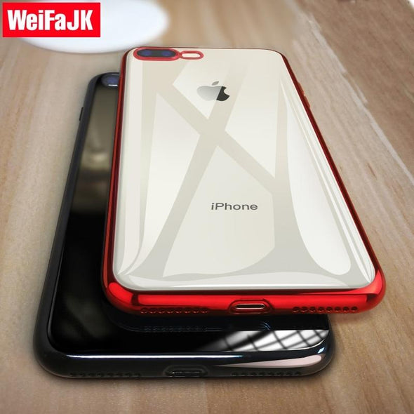Soft Coque Luxury Full Cover for iPhone