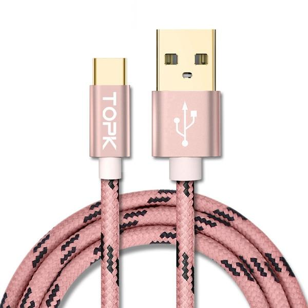 TOPK USB Type C Cable Fast Charging USB C