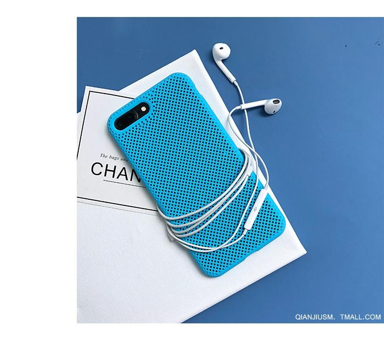 Cooling Breathing Mesh Case for iPhone - E-shopstore