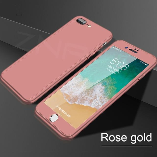 360 Degree Full Cover Phone Cases For iPhone - E-shopstore