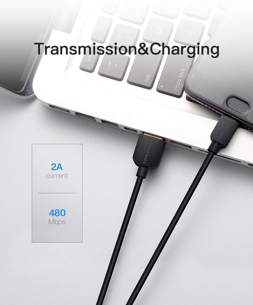 Vention USB Type C Cable Fast Charging Data