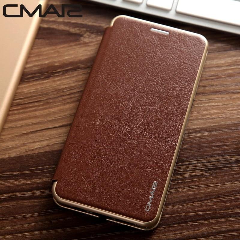 Ultra Slim Magnetic Flip Wallet Leather Case for Samsung Galaxy