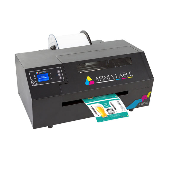 L502 Industrial Color Label Printer, dye or pigment ink