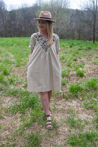 Harper Linen Dress