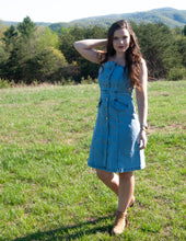 Load image into Gallery viewer, Layla Denim Dress
