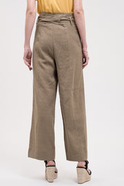 - Belted Wide Leg Pant