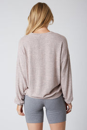 Oversized Hacci - Pullover