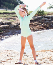 Mint Long Sleeve One Piece
