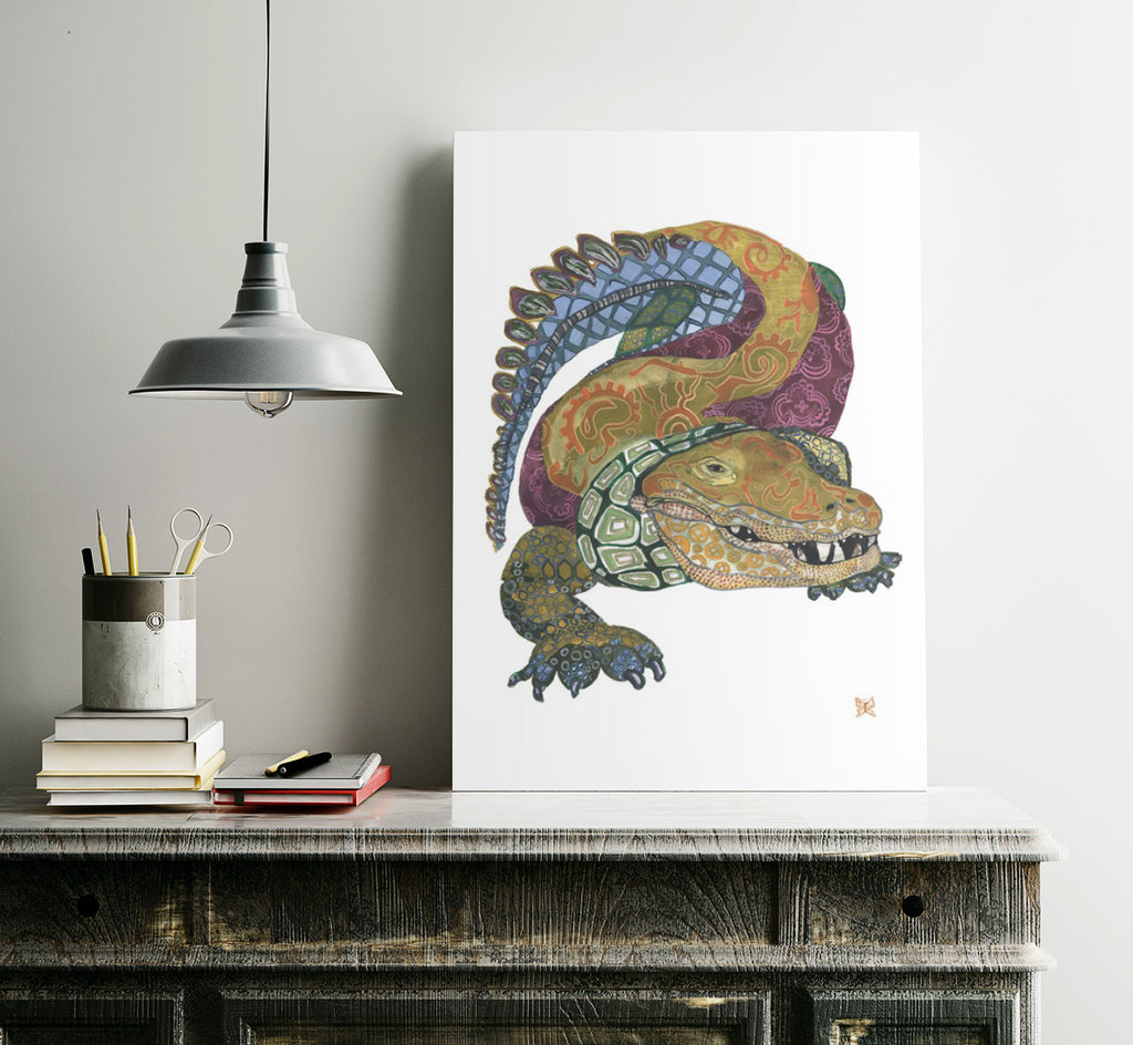 Alligator Art Print