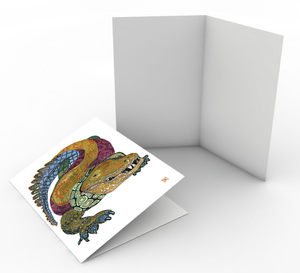 Alligator Card