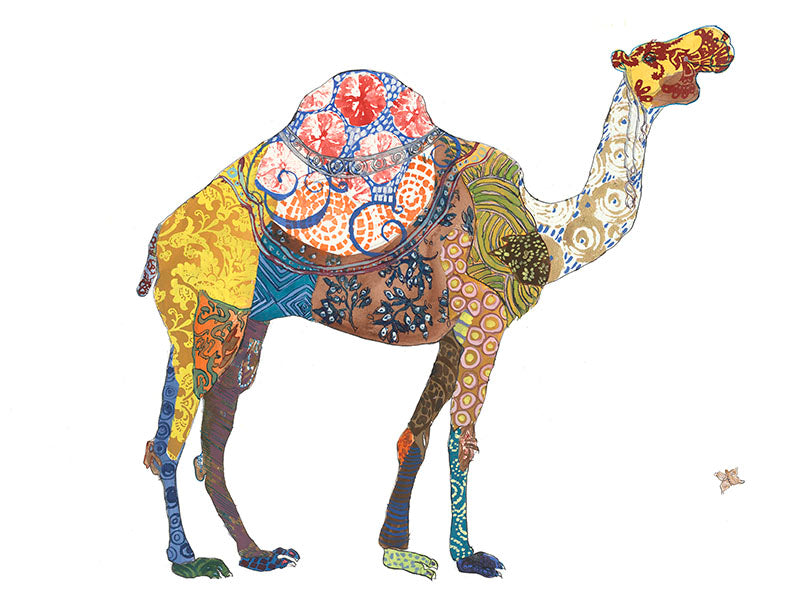 Camel Artwork Print