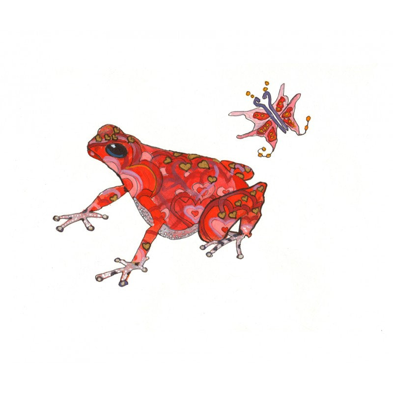 Cupid's Dart Frog - Limited Edition Art Print