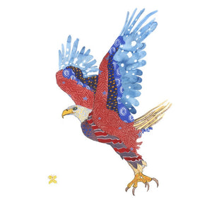 American Bald Eagle Artwork Print