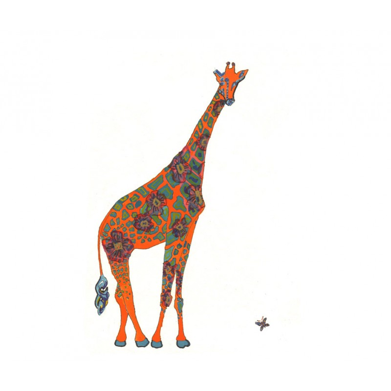 Giraffe - Limited Edition Art Print