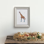 Happy Giraffe Artwork Print