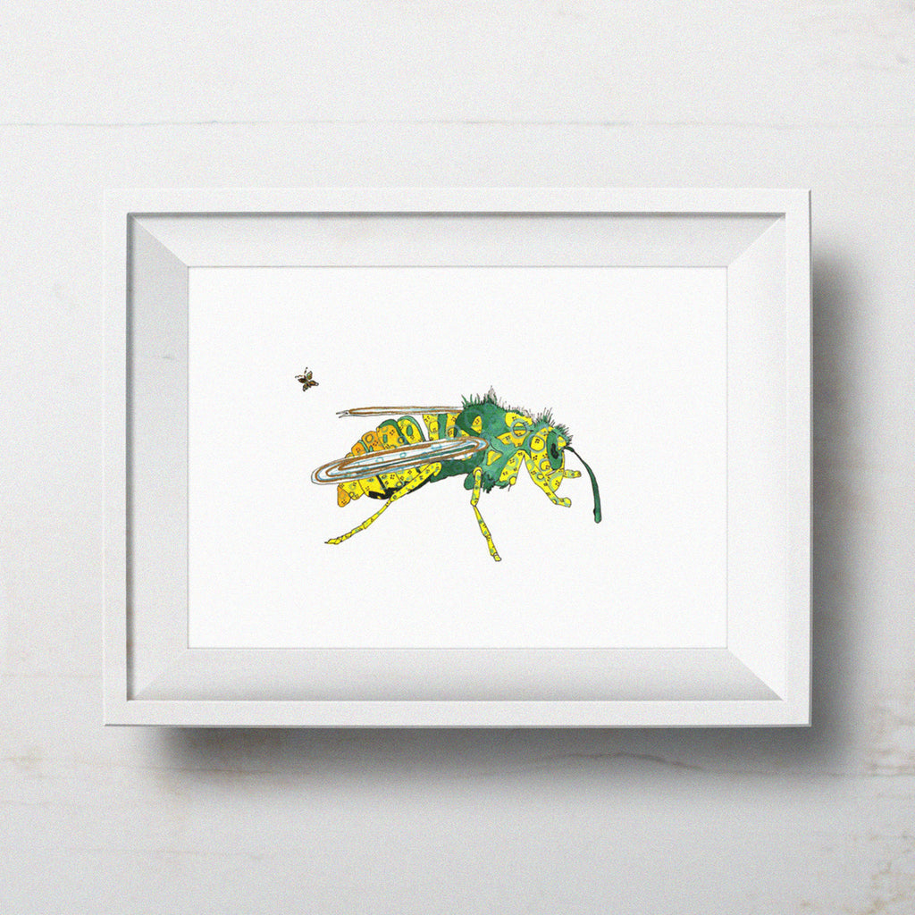 Yellowjacket - Limited Edition Art Print