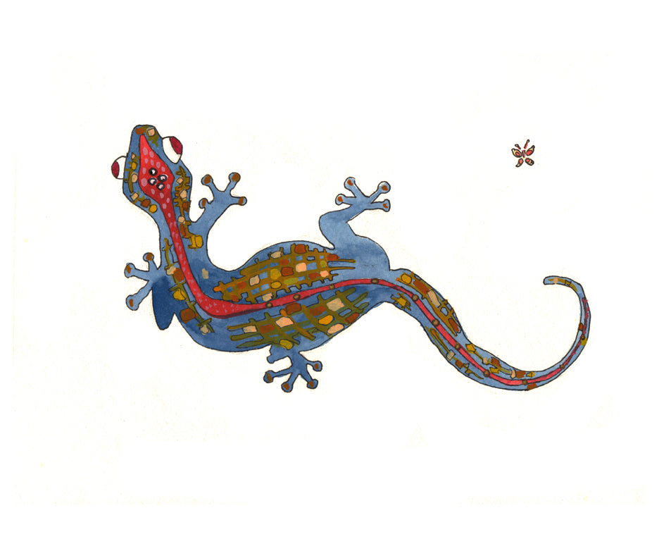 Lizard - Limited Edition Art Print