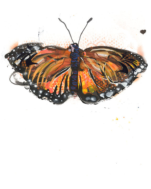 Monarch Artwork Print