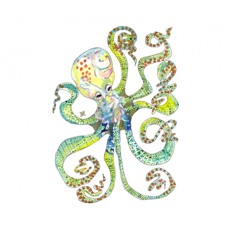 Octopus - Limited Edition Art Print