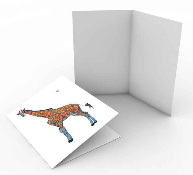 Happy Giraffe Card