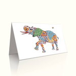 Asian Elephant Card