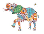 Asian Elephant Art Print