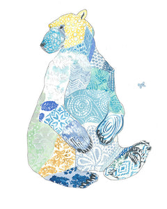 Polar Bear Artwork Print