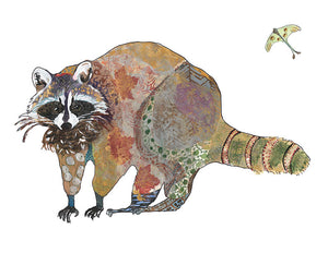 Raccoon Artwork Print