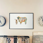 Sheep - Limited Edition Art Print