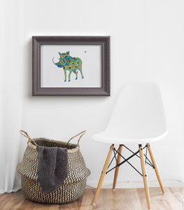 Warthog - Limited Edition Art Print