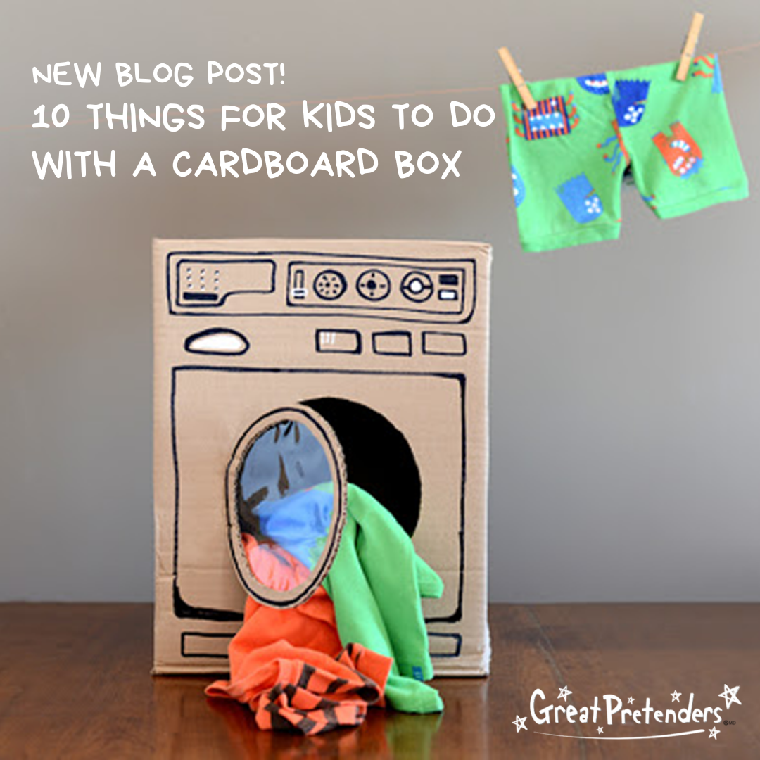 10 Things for Kids to do with a Cardboard Box