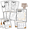 Halloween learning materials