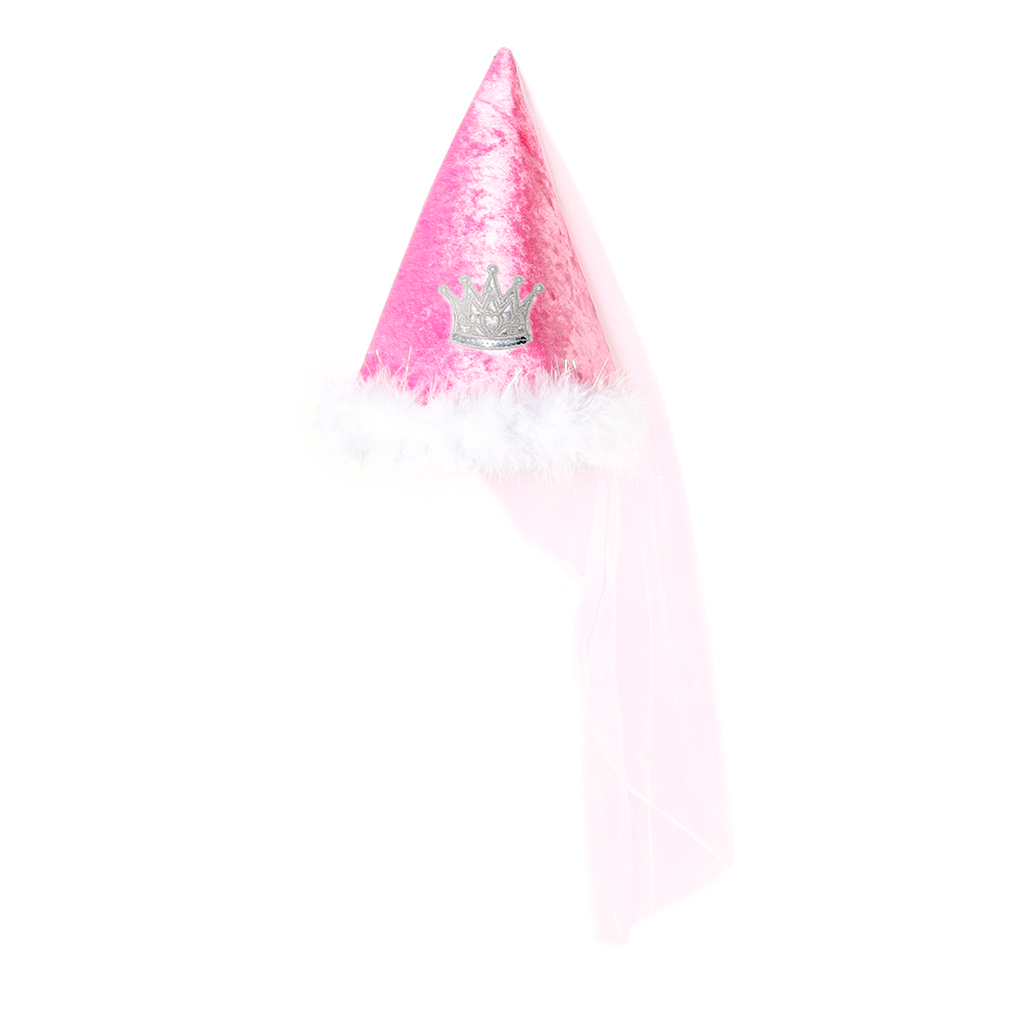 Princess Hat Dark Pink