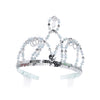 Silver and Blue Cinderella Tiara - Great Pretenders