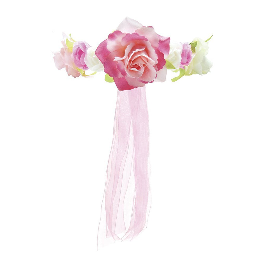 Pink Garden Flower Halo - Great Pretenders