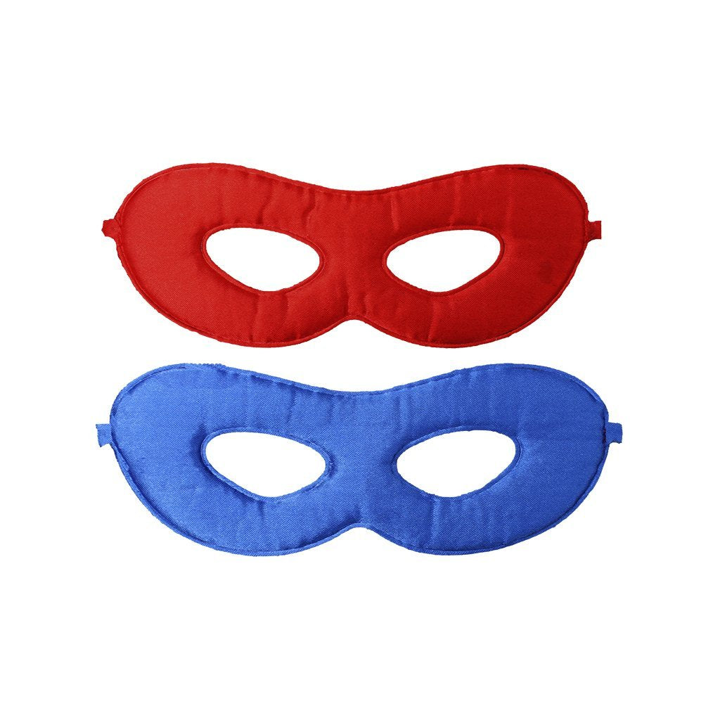 Reversible Red and Blue Adventure Mask