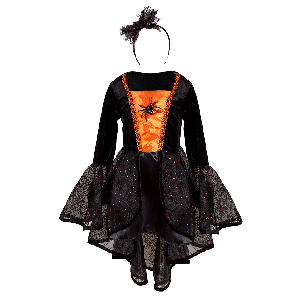 Sybil The Spider Witch Dress & Headband
