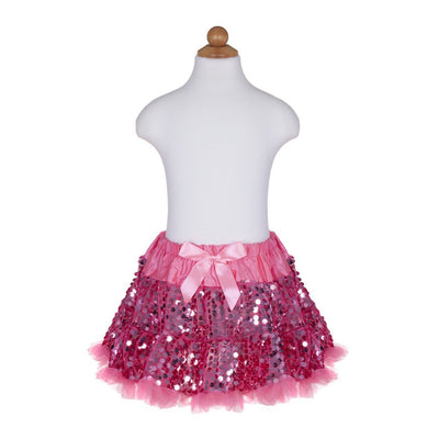 Sequins Sparkle Pink Skirt - Great Pretenders