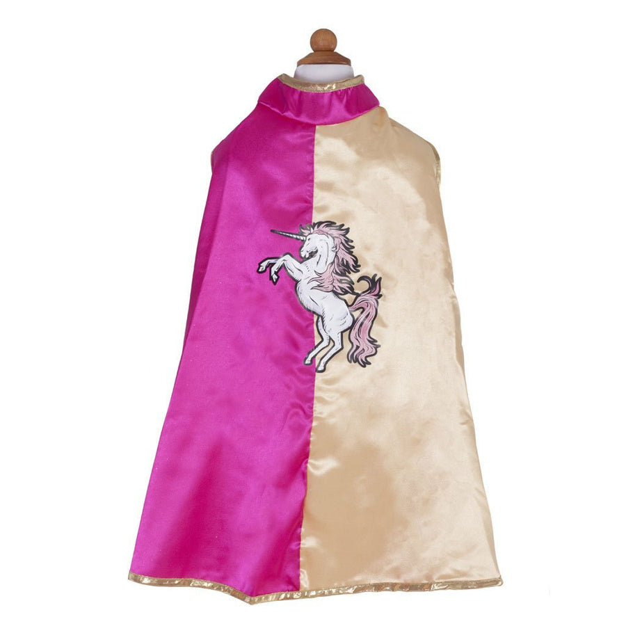Unicorn Action Cape Pink and Gold - Great Pretenders