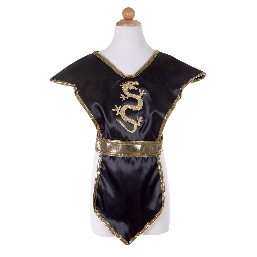 Black Gold Ninja Tunic - Great Pretenders