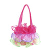 Fancy Frills Handbag Assorted Pink and Purple - Great Pretenders