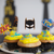 Cupcake Party Toppers - Superhero (24pcs)