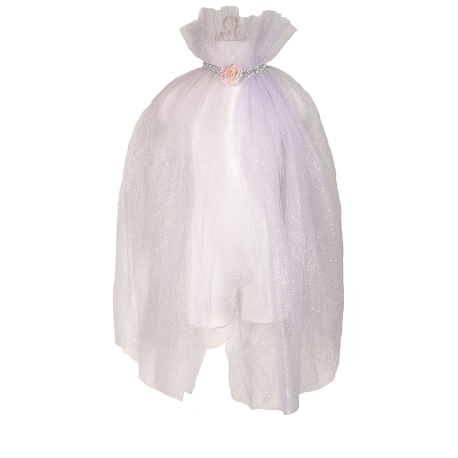 Unicorn Mesh Cape Light Pink