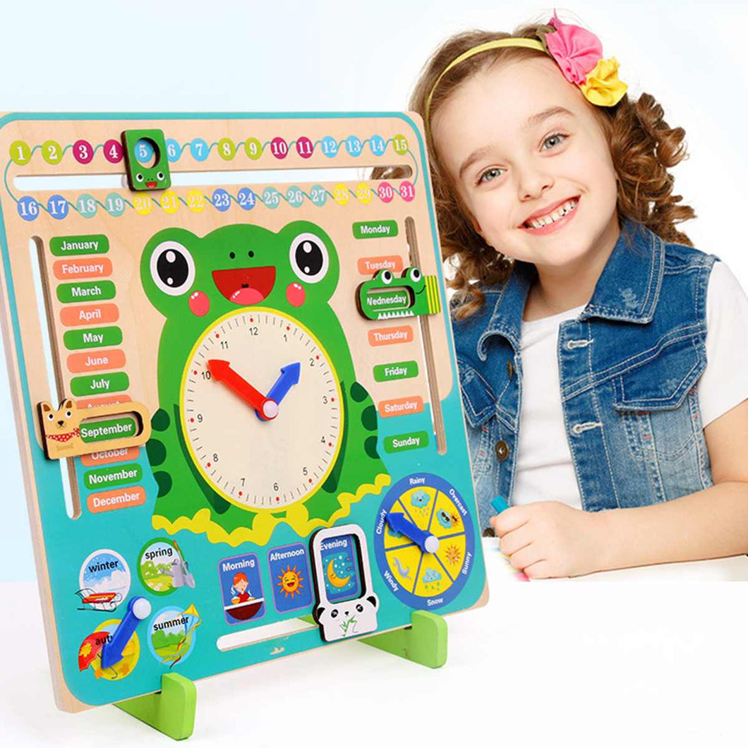 Toy Clock Time Teaching