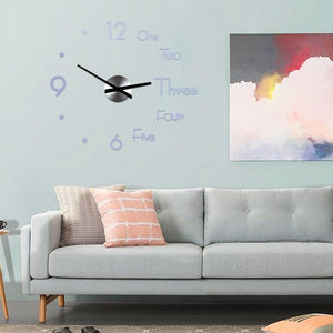 Large Modern Wall Clock