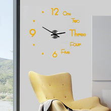 Load image into Gallery viewer, Large Modern Wall Clock