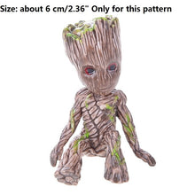 Load image into Gallery viewer, Vinyl Baby Groot Flowerpot Pen Pot Holder Plants Flower Pot Cute Action Figures Toys for Kids Gift Desktop Decoration